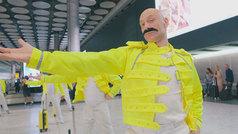 Los trabajadores de Heathrow homenajean a Freddie Mercury