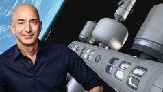 """Jeff Bezos construirá un """"parque de negocios"""" en el espacio"""