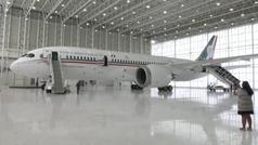 Se rifa el avión presidencial de México