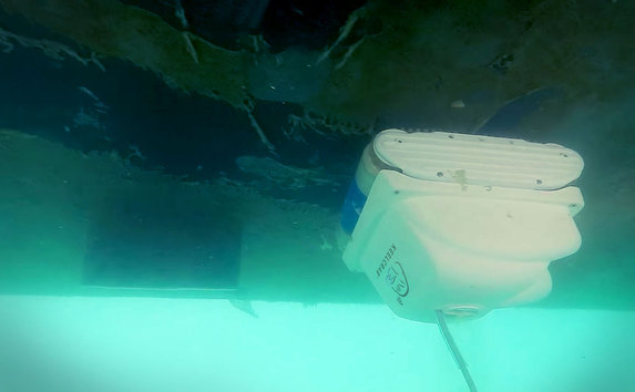 Keelcrab, el dron limpiador del barcos