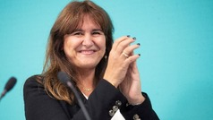 Laura Borrás será la candidata de Junts per Cataluña a la presidencia de la Generalitat
