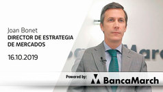 Análisis semanal de economía y mercados (16-10-2019)