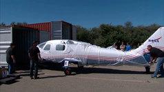 X-57 Maxwell, la NASA prepara su primer avión eléctrico