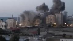 Nueva noche de bombardeos entre Israel y la franja de Gaza