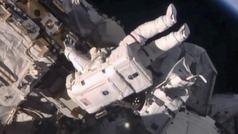 Detectan una fuga de aire en la Estación Espacial Internacional