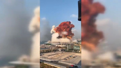 Al menos 100 muertos y más de 4.000 heridos tras las dos explosiones en Beirut