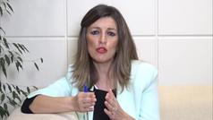 """Yolanda Díaz, sobre las últimas medidas económicas: """"Pedro Sánchez ha escuchado a toda la oposición"""""""