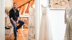 En el atelier de Jan Taminiau, el diseñador favorito de las reinas