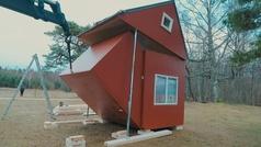 Las sorprendentes casas plegables que cuestan lo mismo que un coche