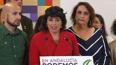 """Teresa Rodríguez anuncia una nueva formación política """"descentralizada, andaluza e independiente del PSOE"""""""