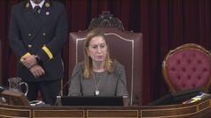 """Ana Pastor ordena retirar del Diario de Sesiones las palabras """"fascista"""" y """"golpista"""""""