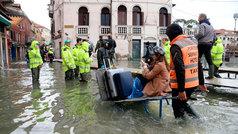 El 70% de Venecia está inundada