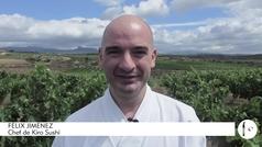 Félix Jiménez, el chef tras la mejor barra de sushi de España: Kiro Sushi