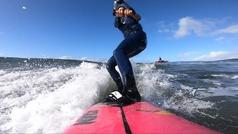 Justine Dupont: así domó la ola más grande jamás surfeada por una mujer