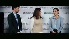 Tamara Falcó: de MasterChef Celebrity a amadrinar el lanzamiento de la Vinoteca LG Signature