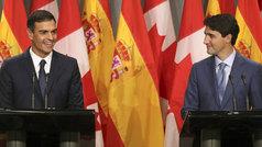 ¿Por qué a Sánchez ya le gusta el acuerdo de comercio con Canadá?