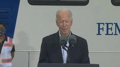 Biden aparentemente desorientado en Texas