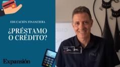 ¿En qué se diferencia un préstamo de un crédito?