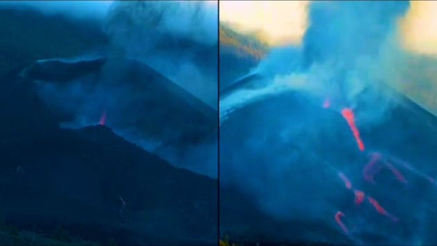 El colapso del cono del volcán podria abrir otro cráter