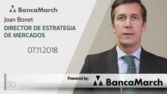 Análisis semanal de economía y mercados (7-11-2018)