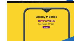 El 28 de enero Samsung presentará el Galaxy M con diseño 'notch'