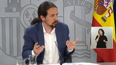 Pablo Iglesias abre la puerta a que Ciudadanos pueda apoyar los Presupuestos de 2021