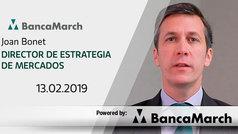 Análisis semanal de economía y mercados (13-02-2019)