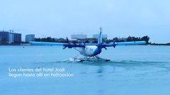 El paraíso en las Maldivas al que se llega en hidroavión