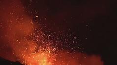 Nueva erupción del Etna