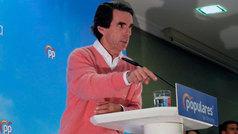 """Aznar: Si gobierna Podemos """"cogerán tu dinero"""" y se lo van a llevar"""