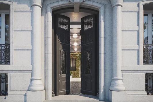 Así es Mabel Villa de París, el residencial de lujo en el corazón de Madrid