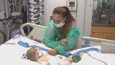 Un trasplante de hígado salva la vida de dos niñas