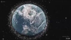 La Estación Espacial Internacional, en peligro por la concentración de basura espacial