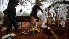 Brasil supera por primera vez los mil muertos por coronavirus en un día
