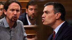La negociación entre Sánchez e Iglesias salta al hemiciclo