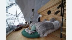Las Mugas, en Formigal, el sueño de dormir en un iglú en una estación de esquí