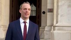 Dominic Raab asume el mando del ejecutivo británico durante la ausencia de Johnson