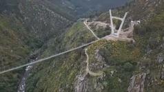 Así es el puente colgante para peatones más largo del mundo