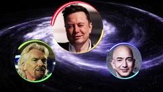 Elon Musk, Jeff Bezos o Richard Branson: ¿quién será el primero en llevarnos al espacio?