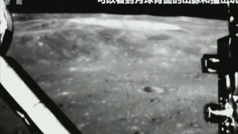 Primeras imágenes del alunizaje chino en la cara oculta de la Luna