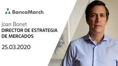 Análisis semanal de economía y mercados (25-03-2020)