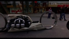 Así es la increíble moto TMC Dumont