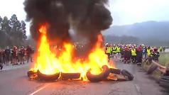 Protestas en Alcoa desde primera hora