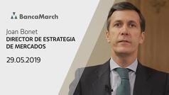 Análisis semanal de economía y mercados (29-05-2019)