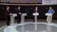Resumen del primer debate electoral a cuatro