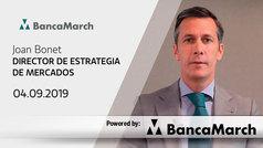 Análisis semanal de economía y mercados (04-09-2019)