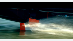 Groupe Beneteau desvela su barco volador a motor