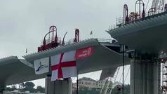 Recorrido por el nuevo puente que Génova inaugurará en julio