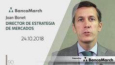 Análisis semanal de economía y mercados (24-10-2018)