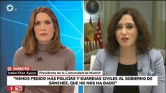 """Ayuso sobre el personal de Valdebebas: """"Son preguntas que no se le hacen a un presidente autonómico"""""""